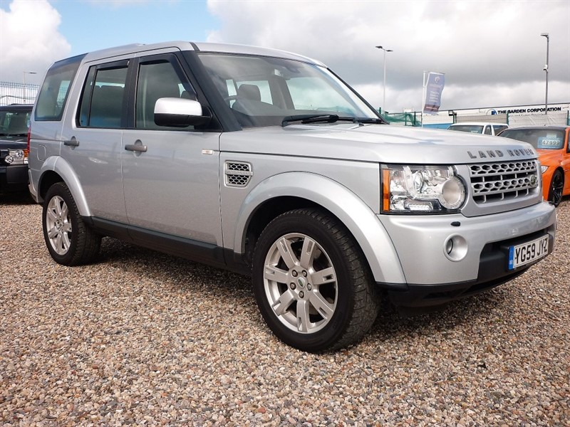 used Land Rover Discovery 4 3.0 TDV6 GS Auto - 7 Seats - Low Mileage - Full Service History in plymouth-devon
