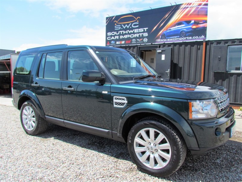 used Land Rover Discovery 4 3.0 SDV6 HSE - 8 Speed Command Shift - Full service history - 2 Keys in plymouth-devon