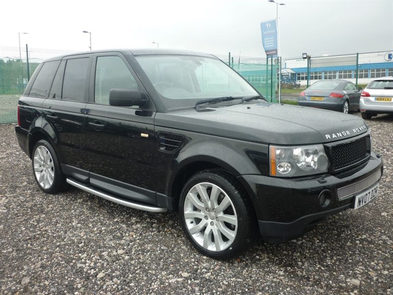 used Land Rover Range Rover Sport 2.7 TDV6 SPORT HSE in plymouth-devon
