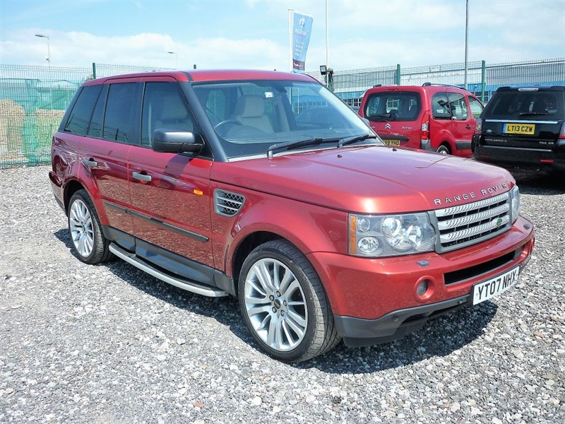 used Land Rover Range Rover Sport 3.6 TDV8 SPORT HSE  (FREE FUEL + 6 MONTHS PARTS & LABOUR WARRANTY) in plymouth-devon