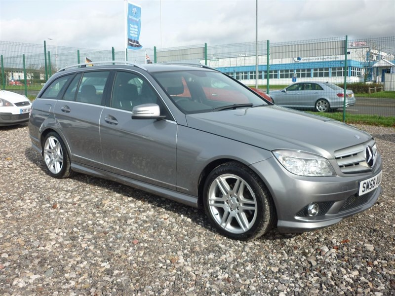 used Mercedes C220 2.1 CDI SPORT, Estate ,FREE 15 MONTHS WARRANTY in plymouth-devon