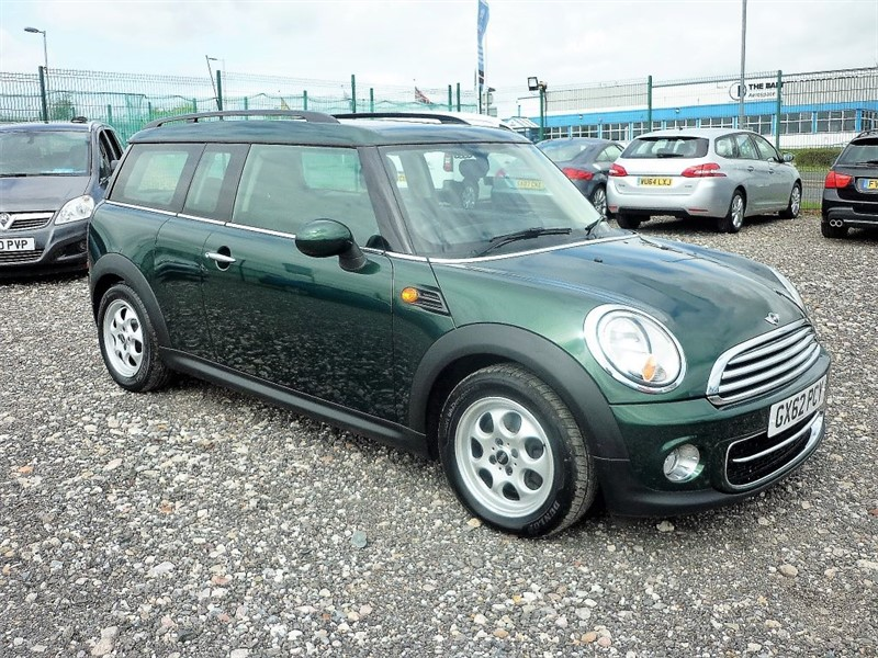 used MINI Clubman COOPER2.0 D AUTO  (FREE FUEL + 6 MONTHS PARTS & LABOUR WARRANTY) in plymouth-devon