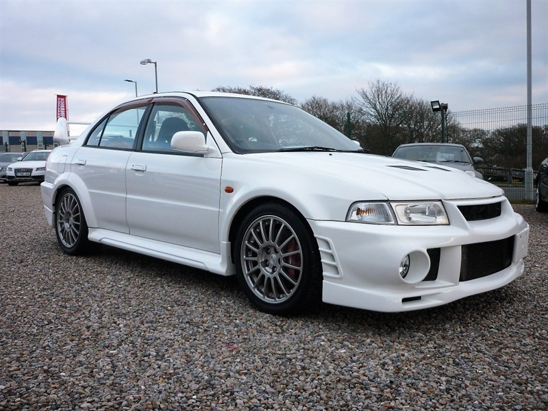 used Mitsubishi Lancer EVO VI 6 GSR - Just arrived - Fresh Import - Service History - Factory Recaros in plymouth-devon