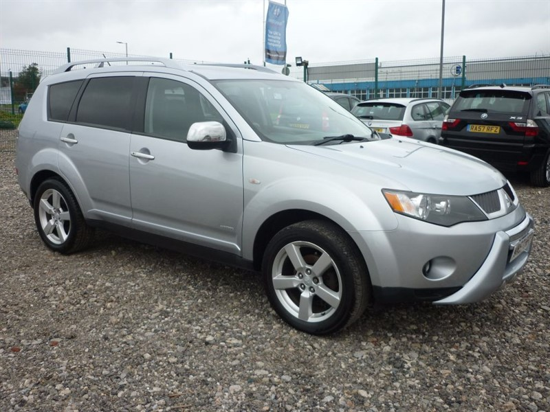 used Mitsubishi Outlander 2.0 INTENSE WARRIOR H-LINE DI-D, 4x4, 15 MONTHS WARRANTY in plymouth-devon