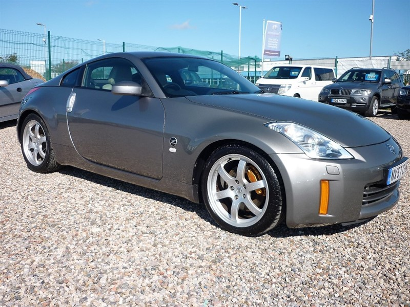 used Nissan 350Z 3.5 V6 GT Pack 313 - Brembos - Leather - 2 keys - Service history in plymouth-devon