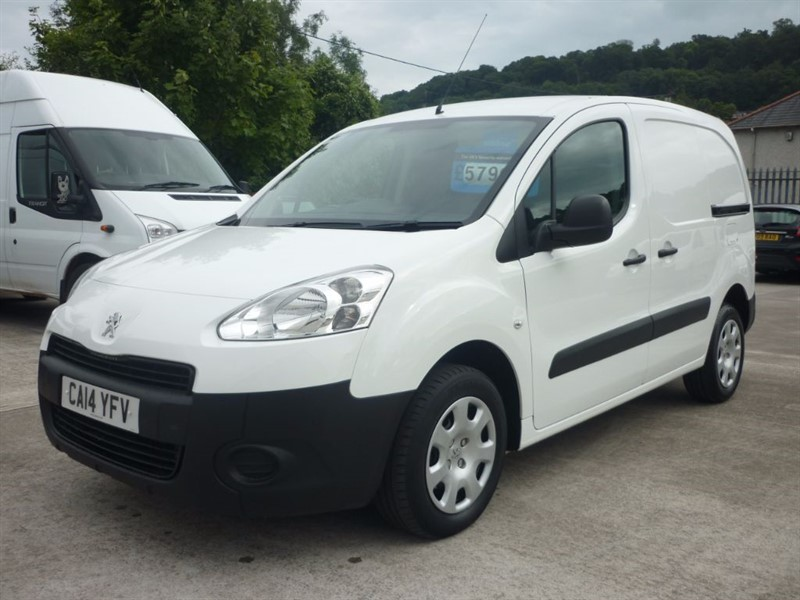 used Peugeot Partner HDI S L1 850 in plympton-plymouth
