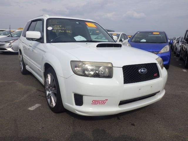 used Subaru Forester 2.5 STI - Low Mileage - Service Record - Fresh Import - High Grade - On Route in plymouth-devon