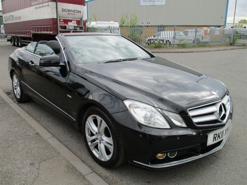 used Mercedes E350 CDI BLUEEFFICIENCY SE in bedfordshire