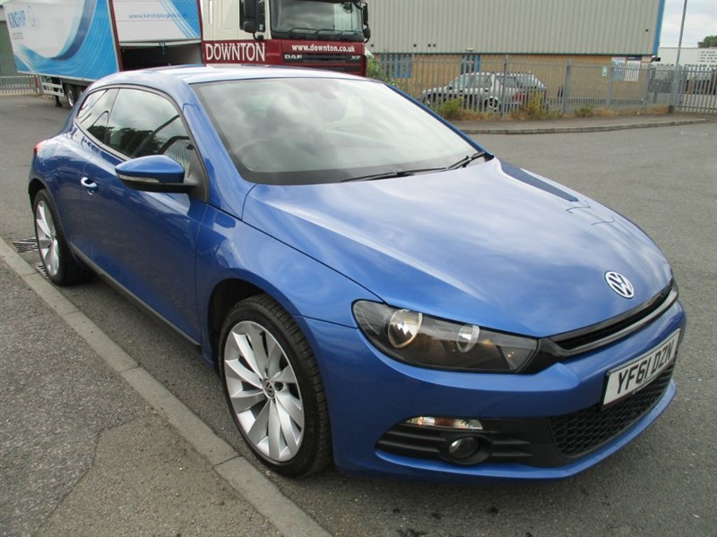 used VW Scirocco GT TDI BLUEMOTION TECHNOLOGY in bedfordshire