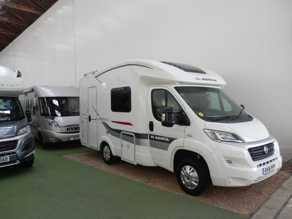 used Adria Matrix Axess 590SG in lancashire