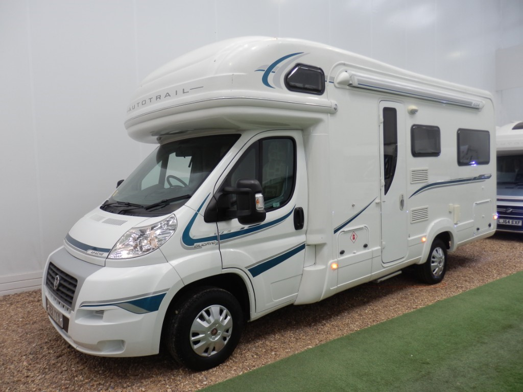 used Autotrail Apache 634 in lancashire