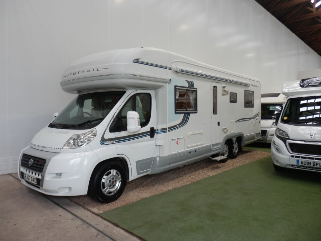 used Autotrail Cheyenne 840D SE in lancashire