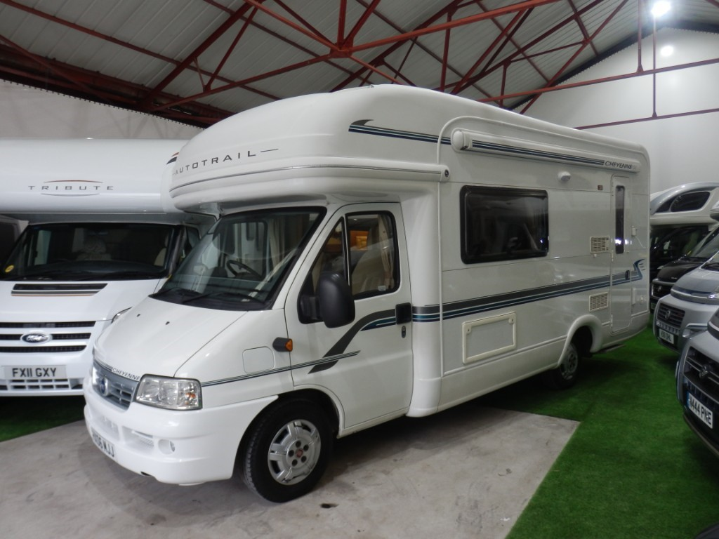 used Autotrail Cheyenne 630SE in lancashire