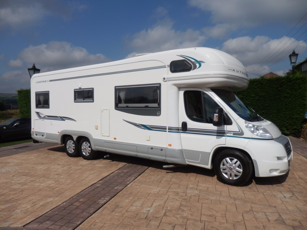 used Autotrail Chieftain SE in lancashire