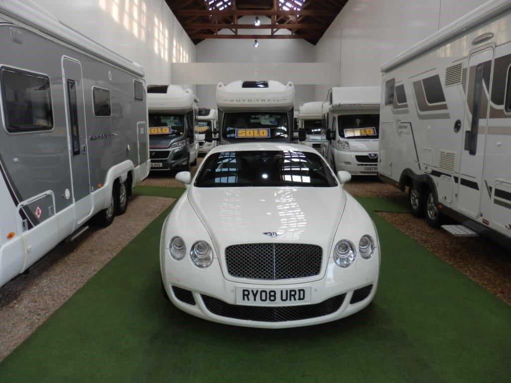 used Bentley Continental GT SPEED 08MY in lancashire