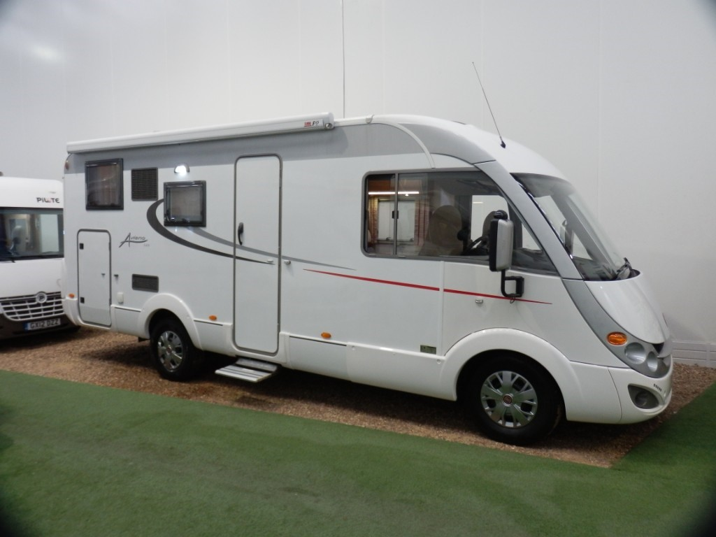 used Burstner Aviano I675 in lancashire