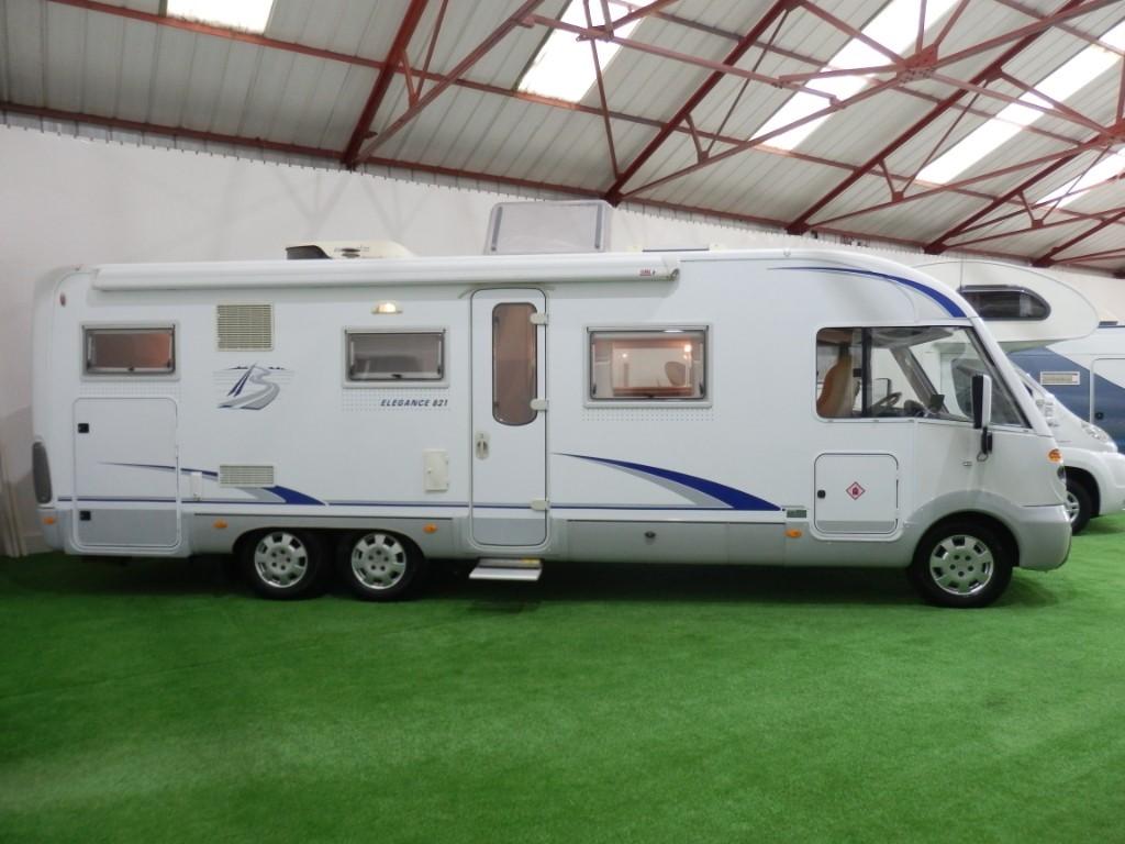 used Burstner Elegance 821 in lancashire