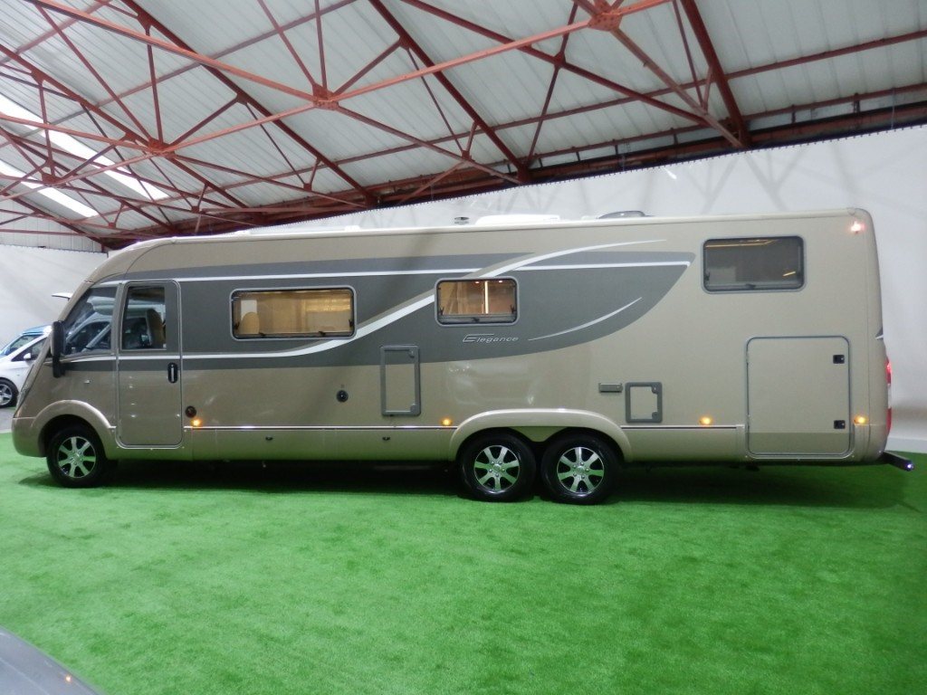 used Burstner Elegance I810 in lancashire