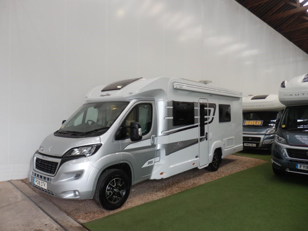 used Elddis Majestic  285 in lancashire