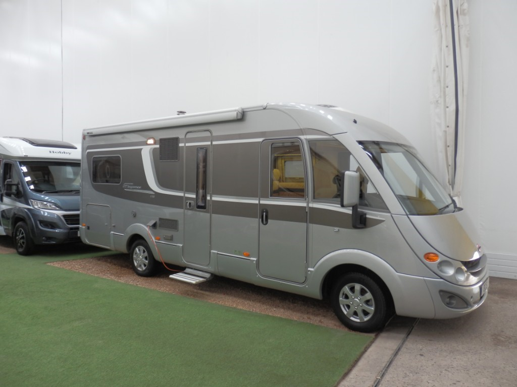used Burstner Elegance I705 in lancashire