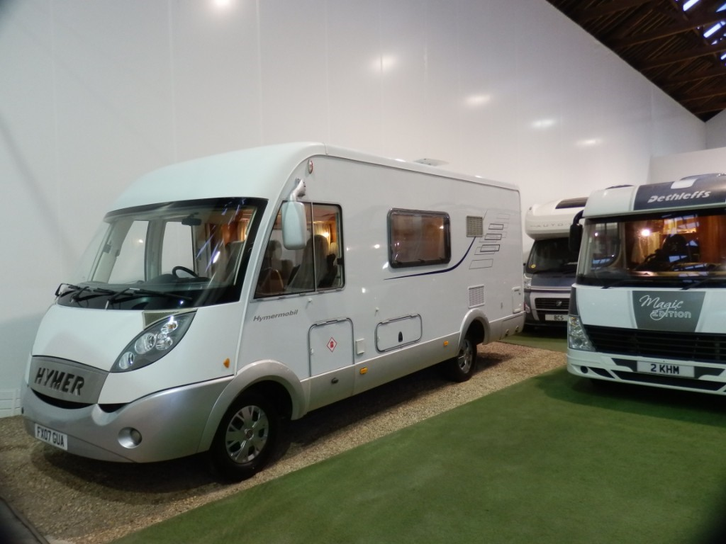used Hymer  B544 in lancashire