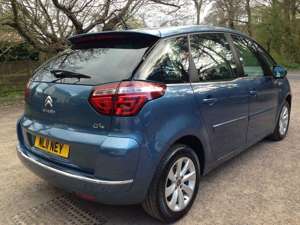 used blue citroen c4 picasso for sale gloucestershire. Black Bedroom Furniture Sets. Home Design Ideas