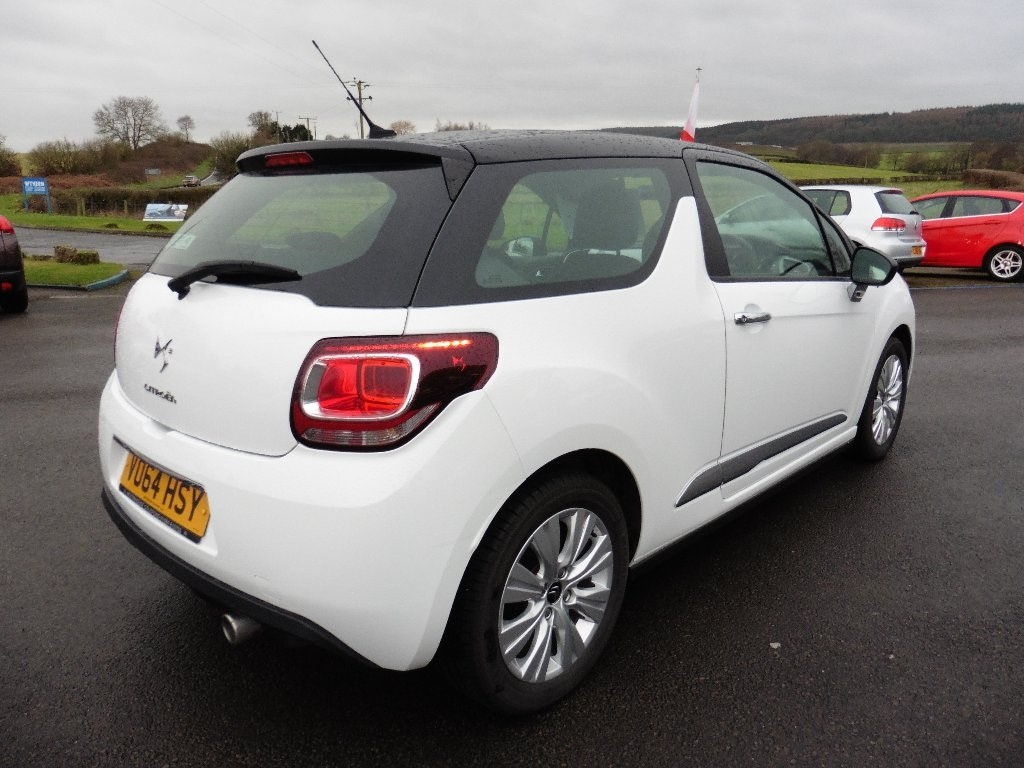 used white citroen ds3 for sale gloucestershire. Black Bedroom Furniture Sets. Home Design Ideas