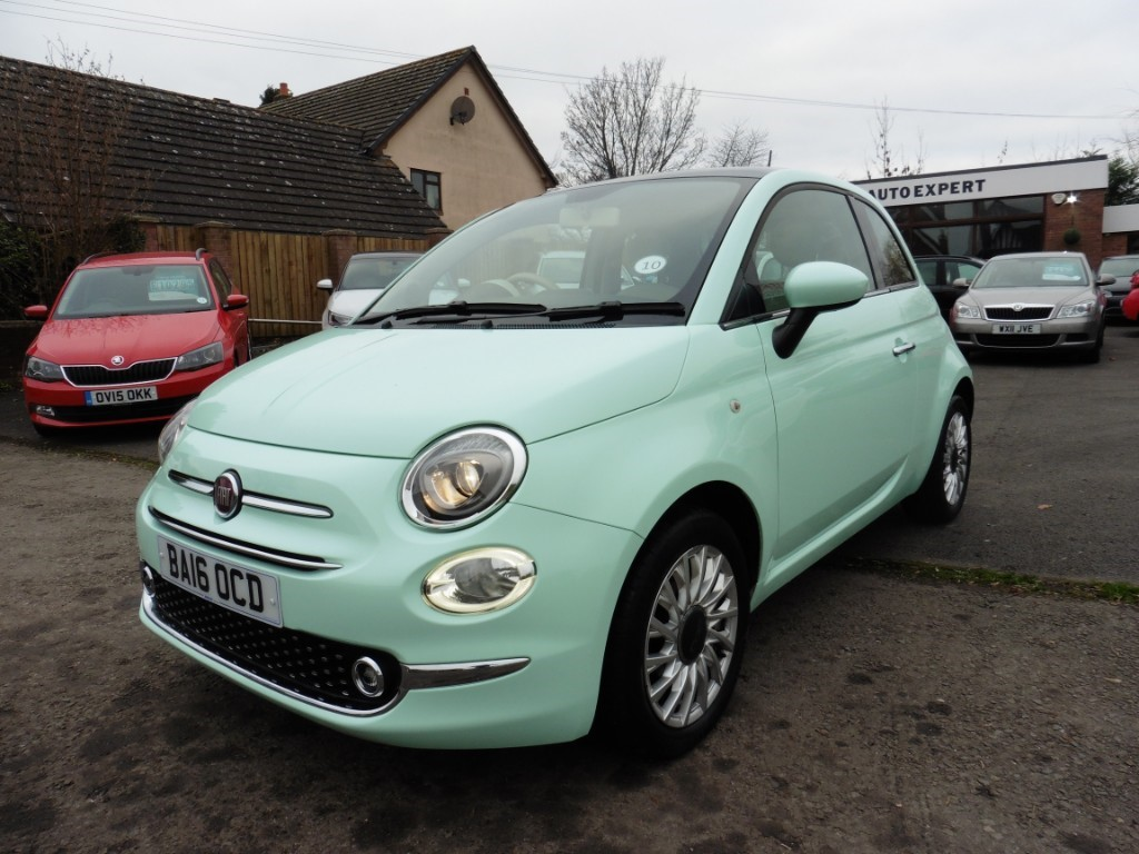 used smooth mint fiat 500 for sale | gloucestershire