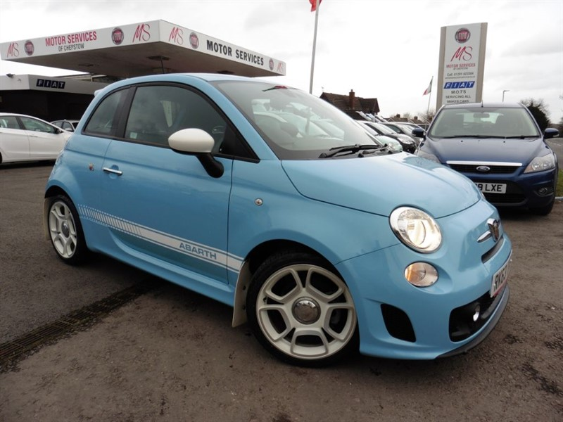 used Abarth 500 1.4 16v T-JET in chepstow-wyvern