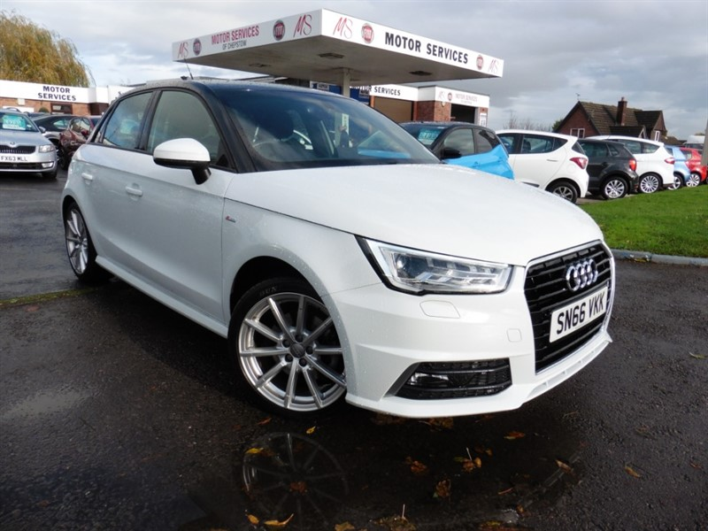 used Audi A1 SPORTBACK TDI S LINE in chepstow-wyvern