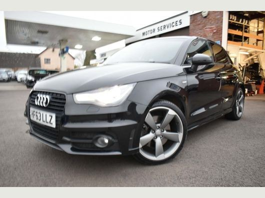 used Audi A1 SPORTBACK TDI S LINE BLACK EDITION in chepstow-wyvern