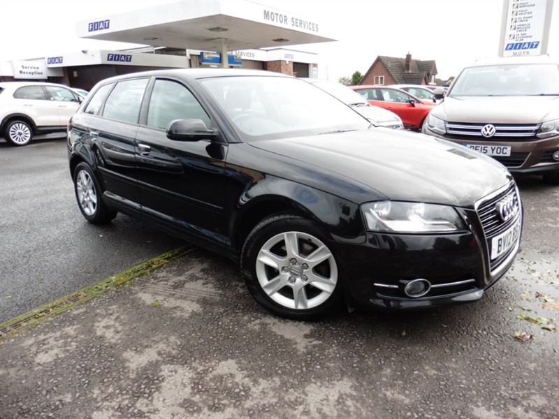 used Audi A3 TDI SE in chepstow-wyvern