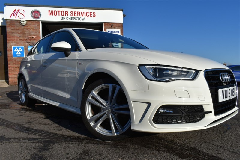 used Audi A3 TDI S LINE in chepstow