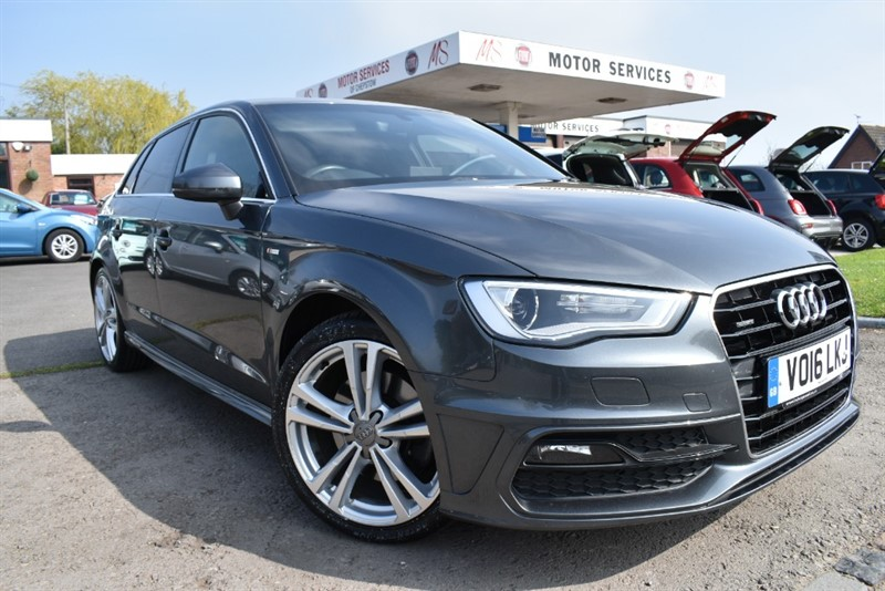used Audi A3 TDI QUATTRO S LINE NAV in chepstow-wyvern