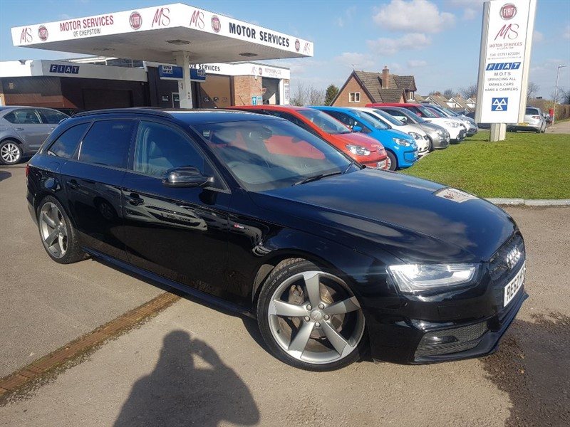 used Audi A4 Avant TDI S LINE BLACK EDITION in chepstow-wyvern