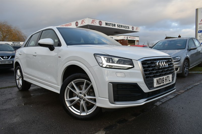 used Audi Q2 TFSI S LINE in chepstow-wyvern