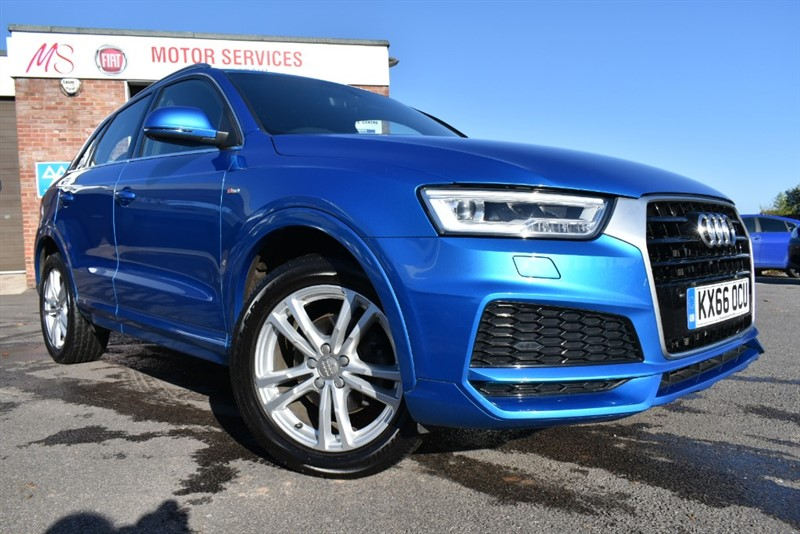 used Audi Q3 TFSI S LINE EDITION in chepstow