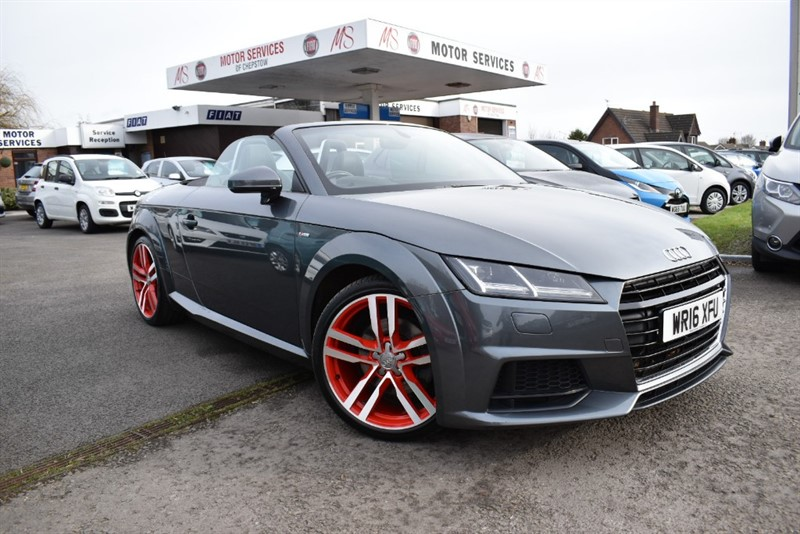 used Audi TT TDI ULTRA S LINE in chepstow-wyvern
