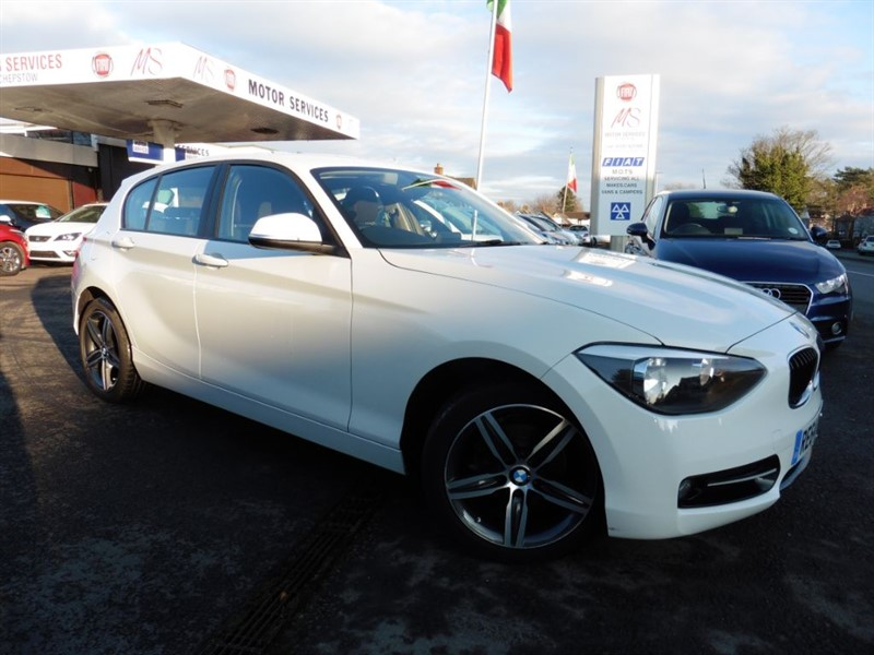 used BMW 118d SPORT in chepstow-wyvern