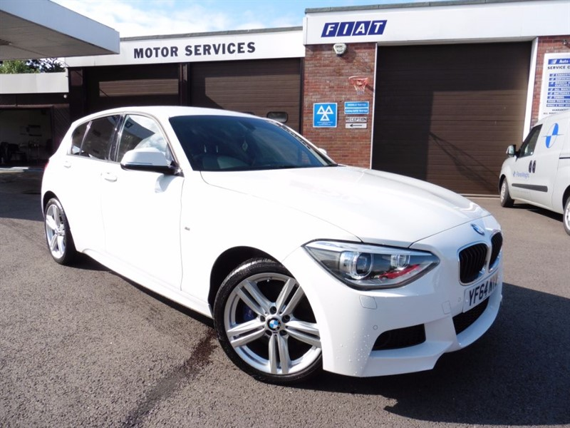 used BMW 120d XDRIVE M SPORT in chepstow-wyvern