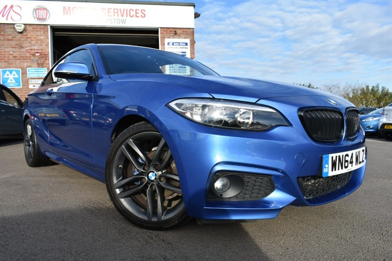 used BMW 218d M SPORT in chepstow-wyvern