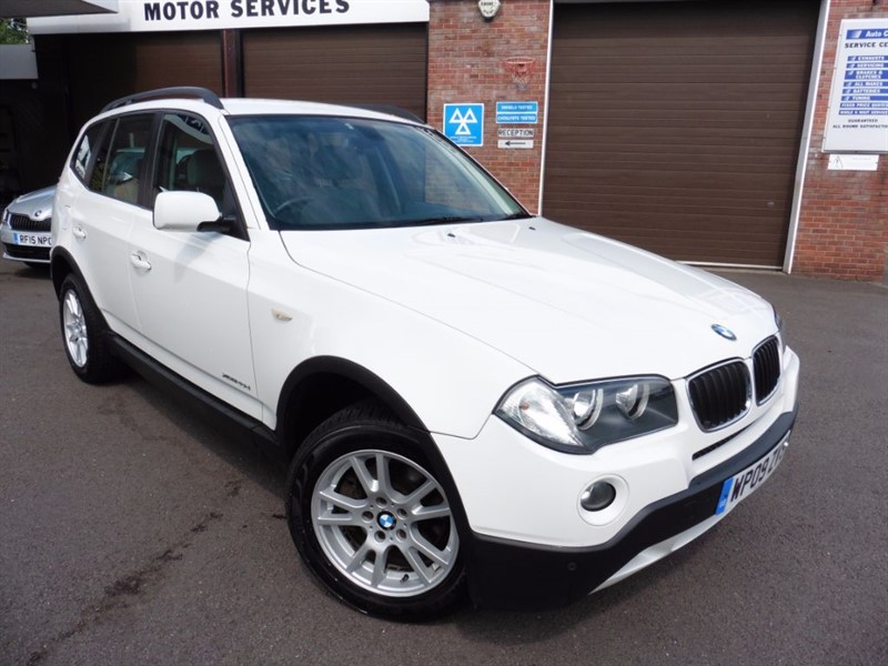 used BMW X3 XDRIVE20D SE in chepstow-wyvern