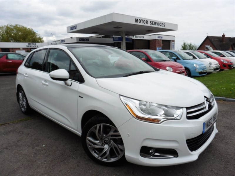 used Citroen C4 E-HDI AIRDREAM EXCLUSIVE in chepstow-wyvern
