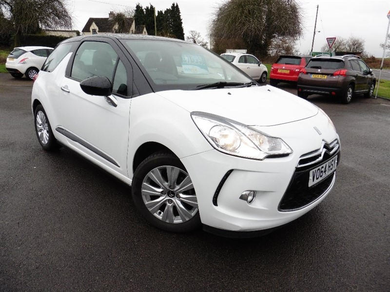 used Citroen DS3 PureTech DSign Plus 3dr in chepstow-wyvern