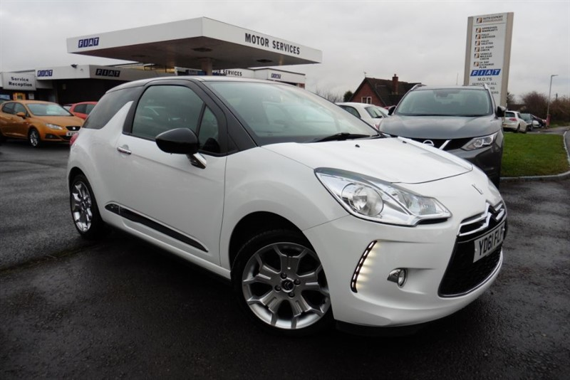 used Citroen DS3 DSTYLE in chepstow-wyvern