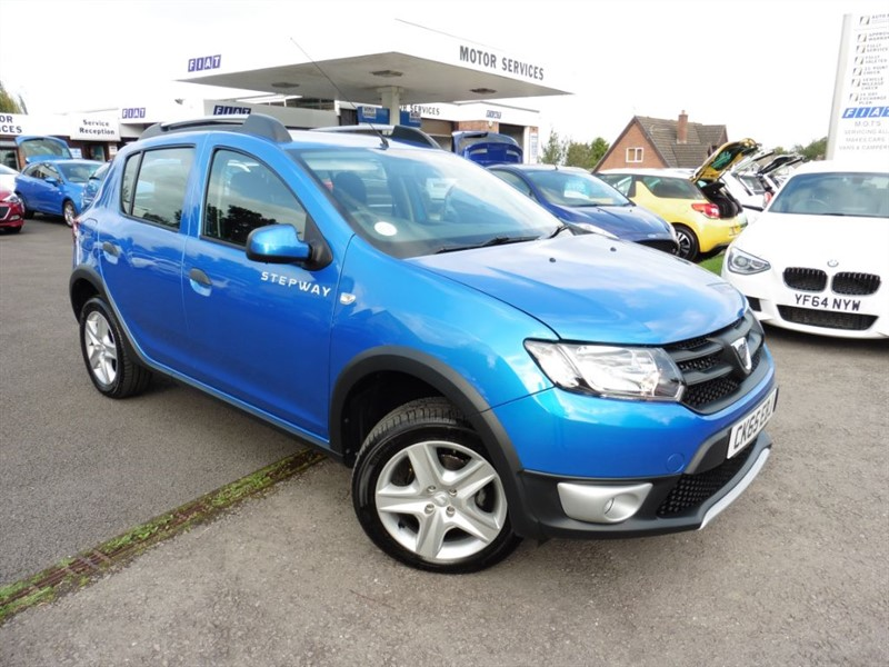 used Dacia Sandero STEPWAY AMBIANCE TCE in chepstow-wyvern
