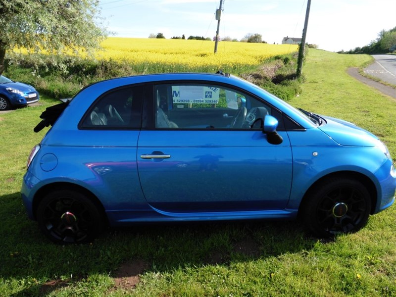 used Fiat 500 C S in chepstow-wyvern