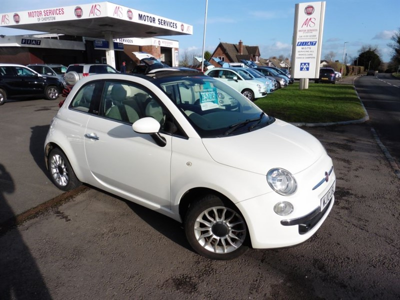 used Fiat 500 C LOUNGE in chepstow-wyvern