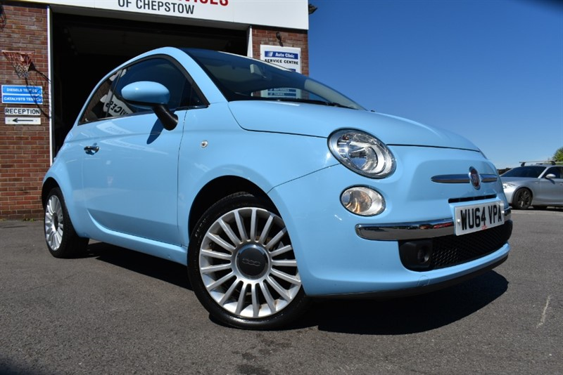used Fiat 500 LOUNGE in chepstow