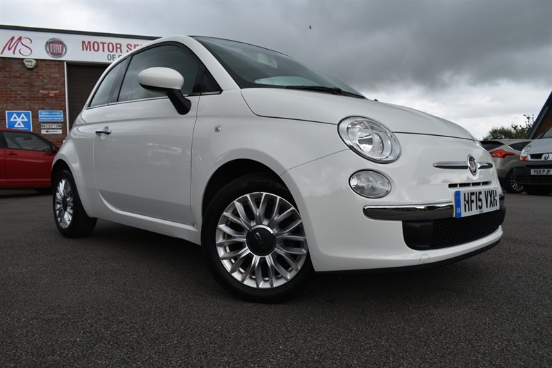used Fiat 500 LOUNGE DUALOGIC in chepstow